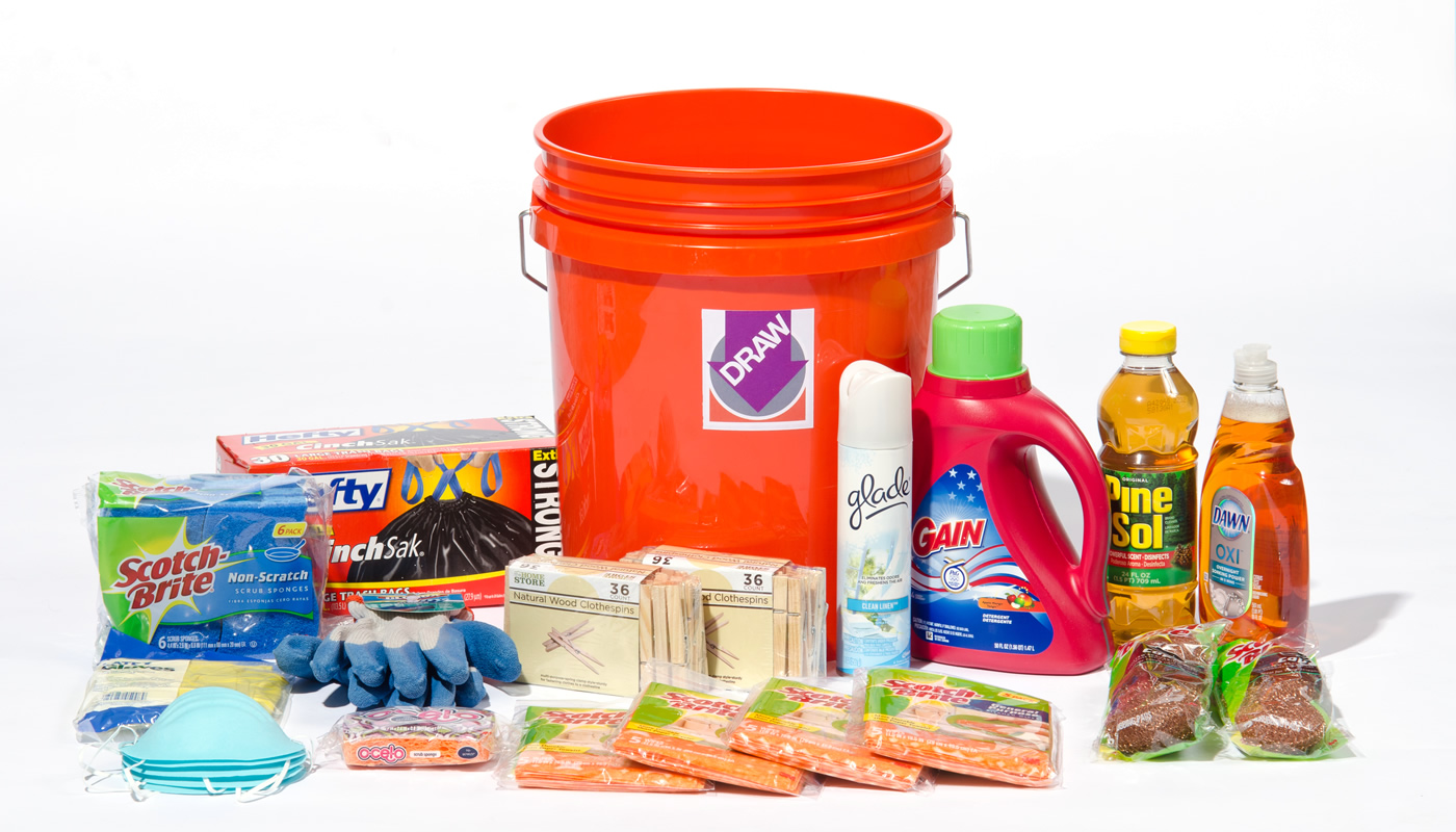 Cleaning supplies you'll need