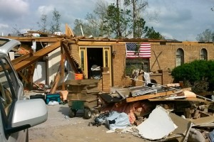 DRAW Disaster Relief at Work - Monroe Woman