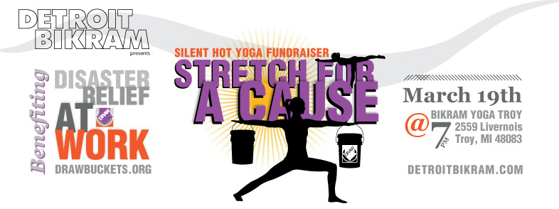 Stretching for a Cause: Upcoming DRAW Fundraiser